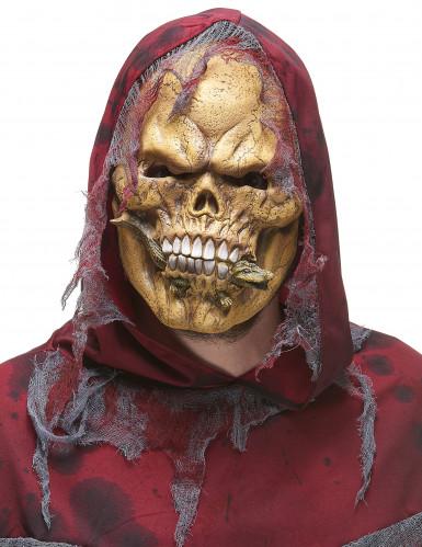 Maschera scheletro mangiatore di rettili adulto