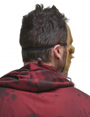 Maschera scheletro mangiatore di rettili adulto-2