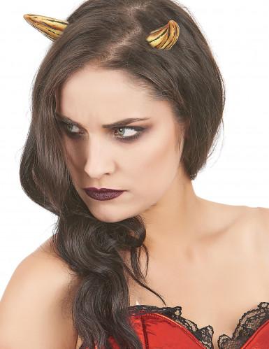 Trucco Halloween: corna diaboliche in lattice