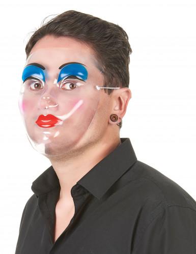 Maschera trasparente trucco donna-1