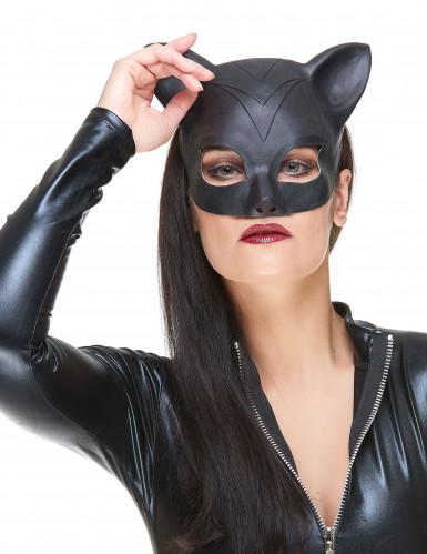 Mezza Maschera in lattice donna-gatto adulta
