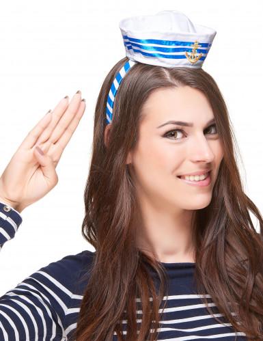 Cerchietto cappellino marinaio da adulto