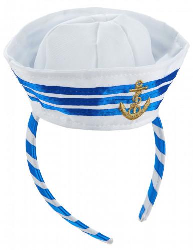 Cerchietto cappellino marinaio da adulto-1