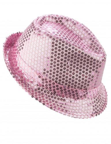 Cappello borsalino paillettes