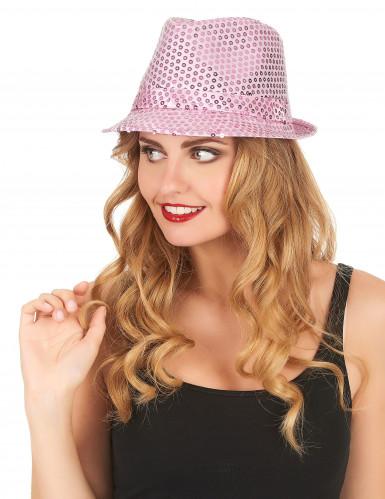Cappello borsalino paillettes-1