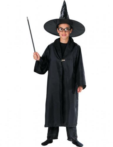 Mantello da mago nero bambino