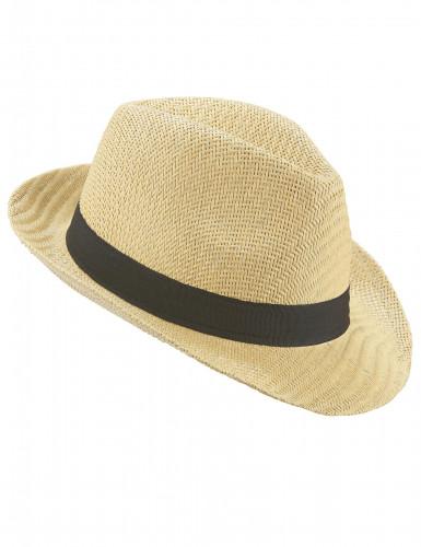 Cappello borsalino banda nera adulto