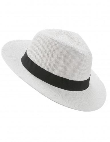 Cappello Panama bianco adulto