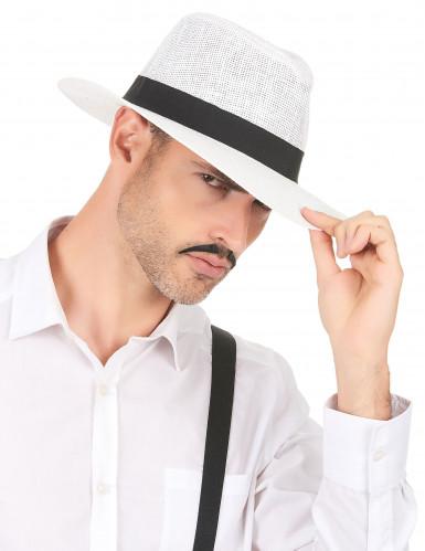 Cappello Panama bianco adulto-2