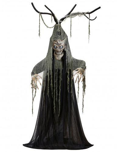 Albero stregato luminoso e parlante Halloween