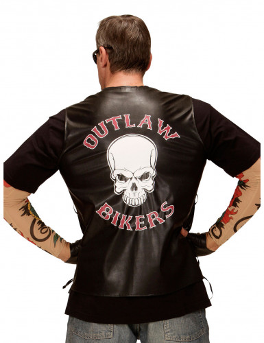 Gilet da biker adulto-1