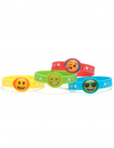 4 Braccialetti Emoji™