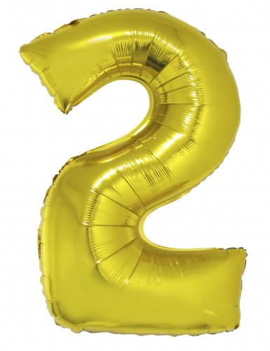 Set Capodanno 2019 Palloncini Giganti in alluminio oro-1