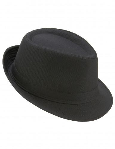 Cappello borsalino nero adulto
