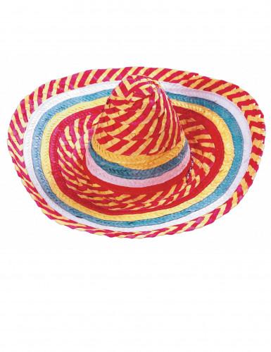 Sombrero messicano tutti i frutti adulto-1