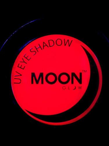 Ombretto rosso fluorescente UV Moonglow ©-1