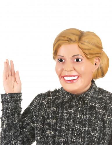 Maschera umoristica in lattice Regina Maxima adulto
