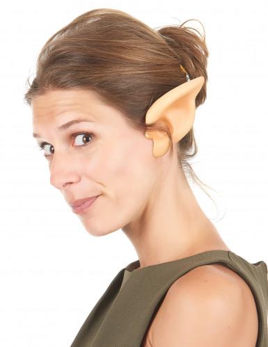 Orecchie da elfo in PVC per adulto