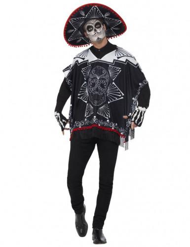 Kit scheletro dia de los muertos per adulto Halloween-3