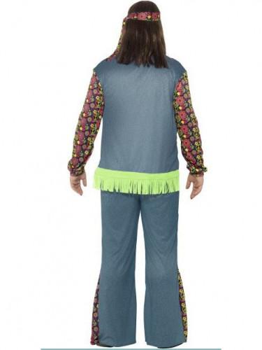 Costume hippie fiori Uomo-2