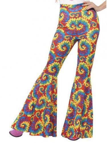 Pantaloni hippie multicolore Donna