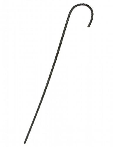 Bastone nero con striature