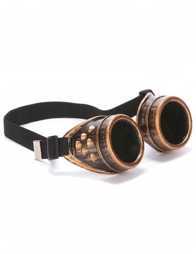 Occhiali da aviatore color bronzo per adulto