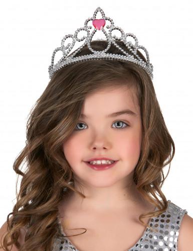 Diadema principessa cuore adulto e bambino-1