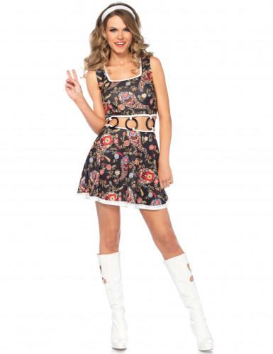 Costume hippie groovy donna-1
