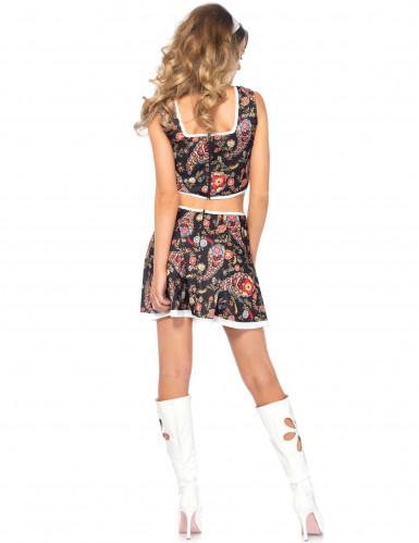 Costume hippie groovy donna-2