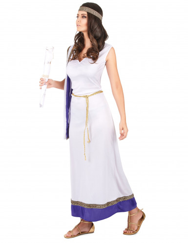 Costume romano lungo viola Donna