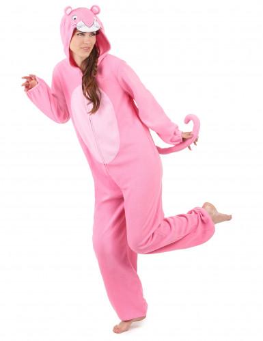 Tuta con cappuccio pantera rosa donna-1