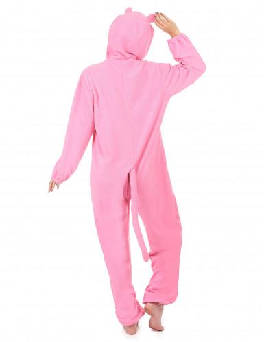 Tuta con cappuccio pantera rosa donna-2