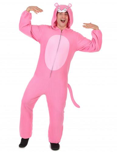 Tuta con cappuccio pantera rosa uomo