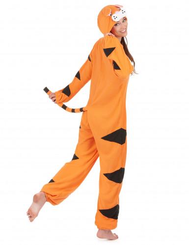 Costume tigre con cappuccio tigre Donna-2