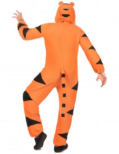 Costume tigre con cappuccio Adulto-2