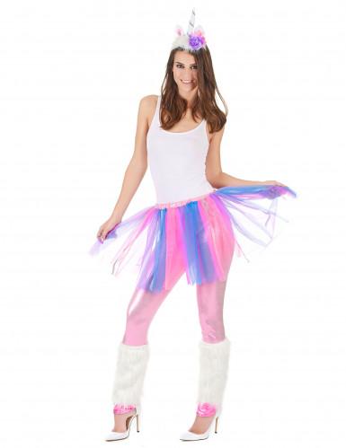 Costume unicorno colorato donna-1