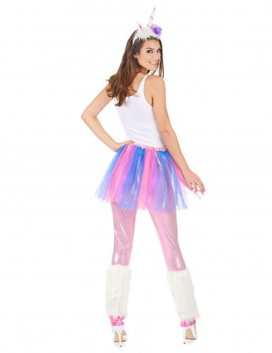 Costume unicorno colorato donna-2