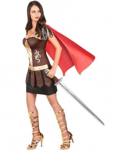 Costume gladiatore romano Donna-1