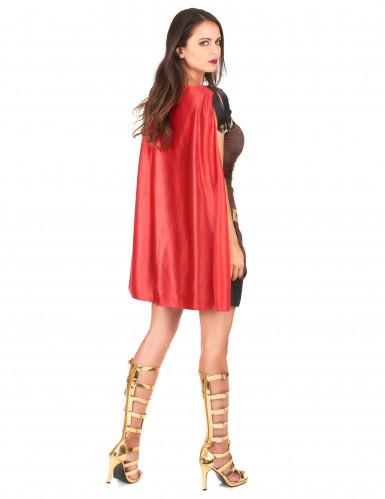 Costume gladiatore romano Donna-2