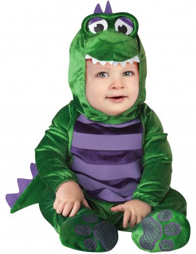 Costume mini dinosauro per neonato - Classico