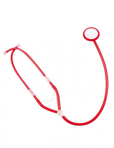 Stetoscopio da infermiera rosso per adulto-1