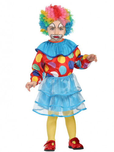 Costume clown a tùtù Bébé