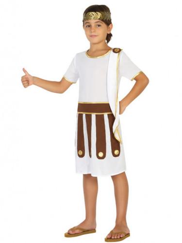 Costume romano bianco bambino