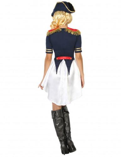 Costume da soldato francese Donna-1