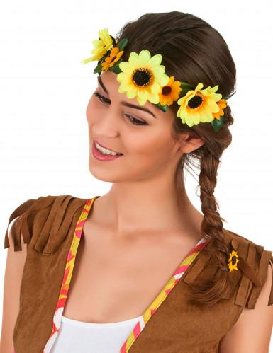 Corona fiori girasole Adulto
