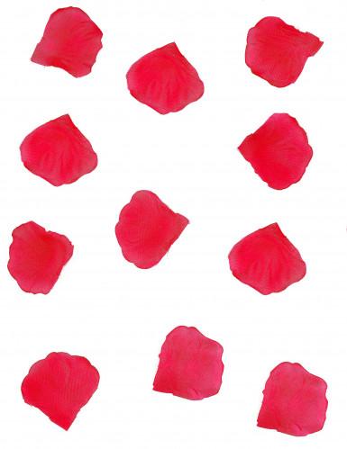 150 petali di stoffa rossi