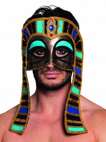 Mascherina egiziana colorata adulto