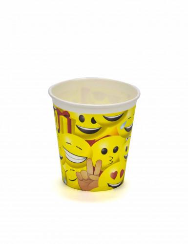 8 Bicchieri in cartone 200 ml Imoji™