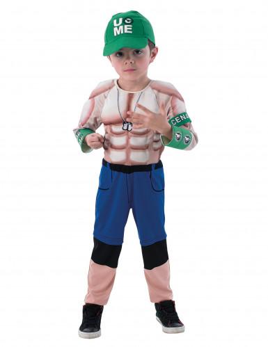 Costume lottatore muscoloso John Cena WWE™ bambino